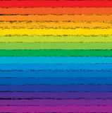 Colorful rainbow background, vector  Royalty Free Stock Images