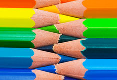Colorful rainbow background Stock Images