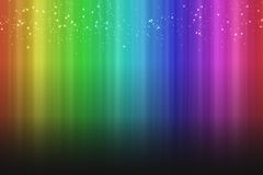 Colorful rainbow background with sparks effect shadow Stock Photo