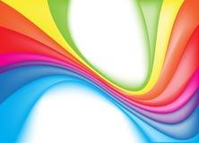 Colorful rainbow background. Vector Illustration Stock Photos