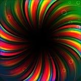 Colorful rainbow birthday banner. Clip-art Stock Photos