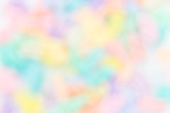 Colorful rainbow blur background Royalty Free Stock Photos