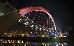Colorful Rainbow Bridge Stock Photography