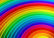 Colorful rainbow color background. 3d illustration Stock Photos