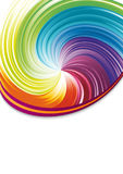 Colorful rainbow disco background Stock Image