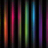 Colorful rainbow lines Stock Photography