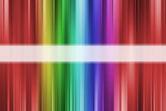 Colorful rainbow lines background Stock Photography