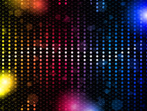 Colorful Rainbow Neon Party Background Stock Photo