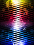 Colorful Rainbow Neon Party Background Stock Photography