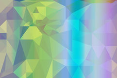 Colorful  rainbow polygon background Royalty Free Stock Photos