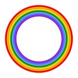 Colorful Rainbow ring Vector Illustration stock illustration