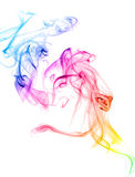 Colorful Rainbow Smoke Stock Photos