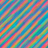 Colorful rainbow striped seamless pattern background stock illustration
