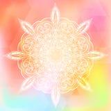 Colorful rainbow triangular background Royalty Free Stock Photography