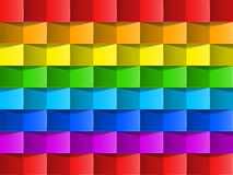 Colorful rainbow vector background . Royalty Free Stock Images