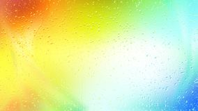 Colorful Raindrop Background Image. Beautiful elegant Illustration graphic art design stock illustration