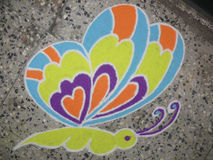 Colorful Rangoli Royalty Free Stock Images