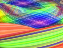 Colorful raster rainbow abstract background. 3d render Royalty Free Stock Photos