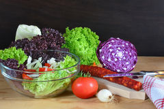 Colorful raw vegetables Royalty Free Stock Photography