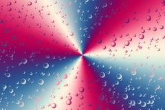 Colorful ray and bubbles Royalty Free Stock Image