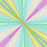 Colorful ray burst background design Stock Photo