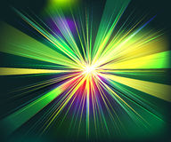 Colorful rays explosion futuristic technology  Royalty Free Stock Photos