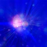 Colorful rays of light, abstract burst background Stock Images