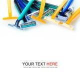 Colorful razor Royalty Free Stock Image
