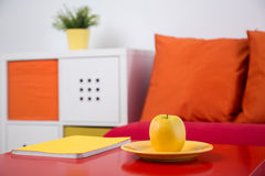Colorful recreation area in kid room Stock Photo