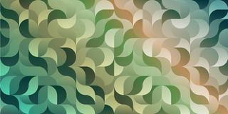 Colorful rectangular geometric camouflage pattern. Colorful rectangular geometric background camouflage pattern in shades of green for the book covers, banners Royalty Free Stock Images