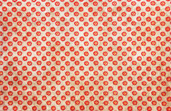 Colorful red daisies background pattern Royalty Free Stock Images