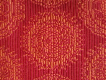 Colorful red fabric texture background. Stock Images