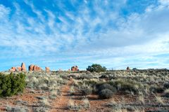 Arches National Park, Moab, Utah. stock photography