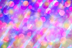 Colorful red and pink bokeh light for festival background. Colorful red and pink bokeh light for festival ,seasonal background Royalty Free Stock Photos