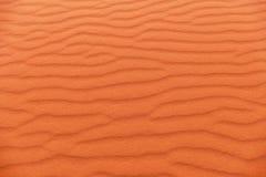 Red Sand Dune Layers in Wadi Rum Desert, Jordan. Colorful Red Sand Dune Layers in Wadi Rum Desert, Jordan Stock Photos