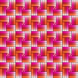 Colorful Weave background vector. Royalty Free Stock Images