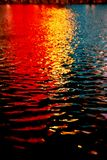 Colorful reflections stock image