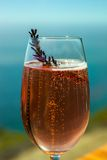 Colorful sparkling beverage Stock Photography