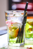 Colorful refreshing drink Stock Images