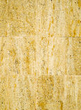 Colorful relief cladding stone slabs on wall Royalty Free Stock Image