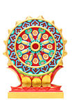Colorful religious symbols isolated. Stock Photos