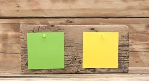 Colorful reminder notes Royalty Free Stock Photography
