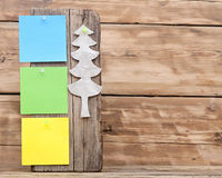 Colorful reminder notes Royalty Free Stock Photos