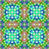 Colorful repeating abstract pattern Royalty Free Stock Photo