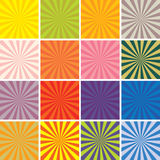 Colorful retro backgrounds Royalty Free Stock Image