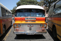 Colorful retro bus Royalty Free Stock Photo