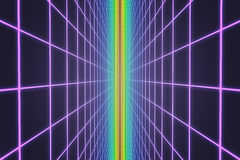 Colorful retro grid background Stock Images