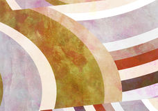 Colorful Retro Paper Background with grunge effects. Stock Image