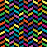 Colorful retro pattern Stock Photography