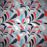 Colorful Retro Style Seamless Pattern Royalty Free Stock Image